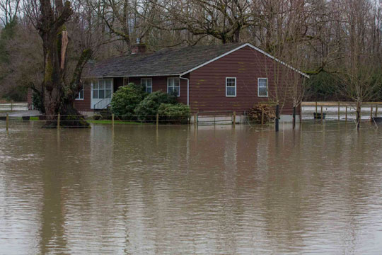 25 COMMUNITIES PROTECTED FROM FLOODS